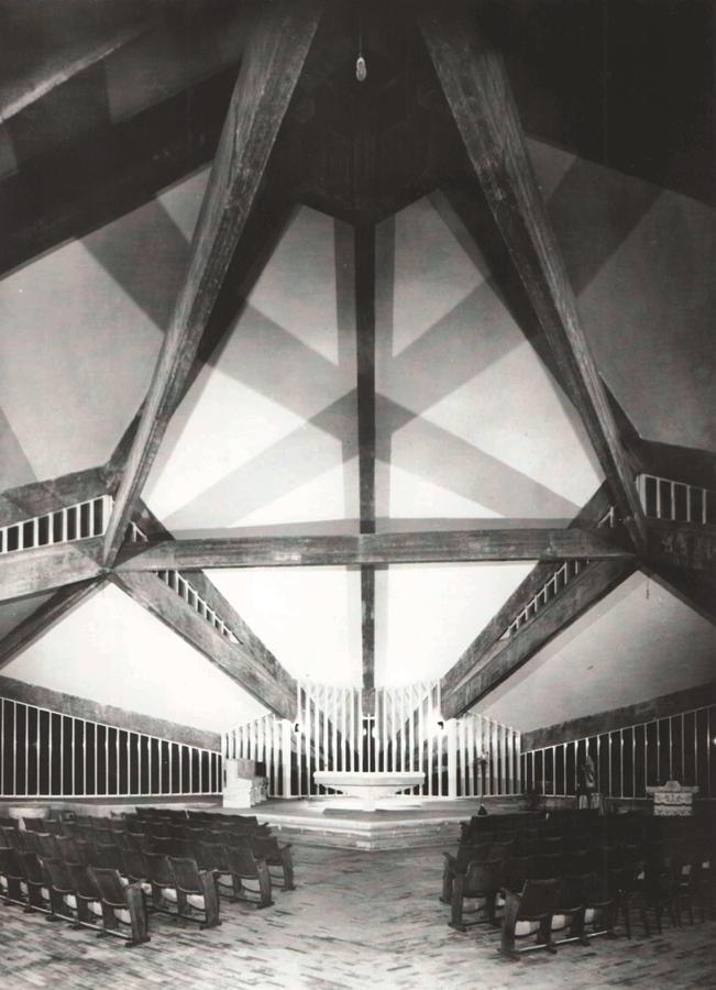 Franco Carpanelli: Chiesa Parrocchiale di Gaiano (PR) - Interno