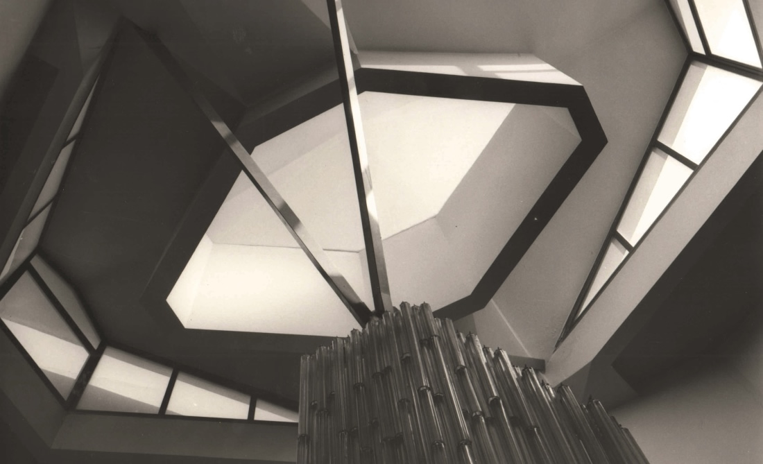 Camera di Commercio di Parma, particolare scala principale